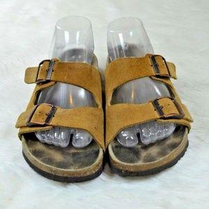 Betula Birkenstock Arizona Suede Sandals